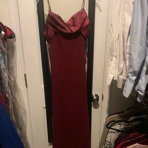 Dresses & Skirts - Full length simple garnet dress